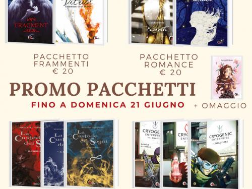 Pacchetti libri + omaggio della Elpìs editrice
